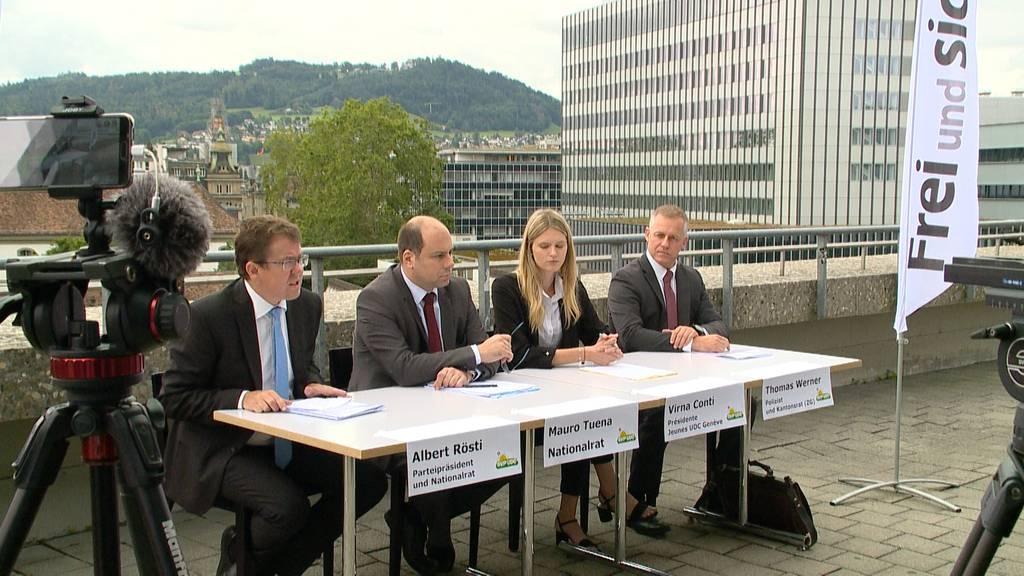 """""""Kein Eldorado für Kriminelle"""": SVP fordert härtere Strafen"""