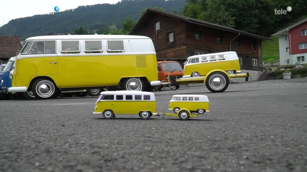 VW Käfer und Büssli sind seine grosse Leidenschaft