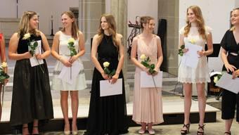 Diplomfeier Neue Kantonsschule Aarau 2019