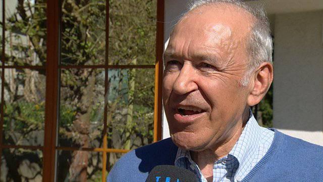 Ernst Hasler sucht zweiten SVP-Bundesrat