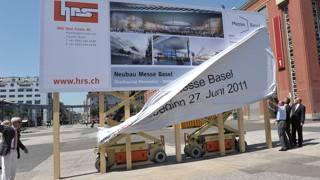 Messeplatz Basel: Baubeginn der ersten Hauptetappe der Überbauung