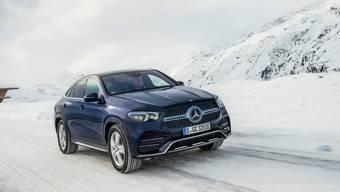 Überzeugt nicht nur mit Eleganz: der neue GLE-Coupé von Mercedes.