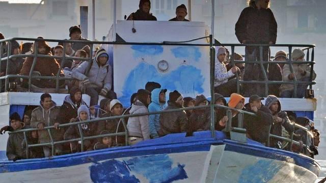 Europa rüstet sich gegen die Flüchtlingswelle aus Nordafrika (Symbolbild)