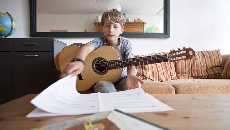Die musikalische Förderung ist im Aargau nicht einheitlich. (Symbolbild)