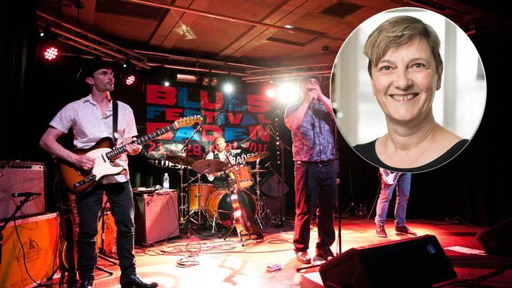 Das Bluesfestival Baden findet dieses Jahr nur virtuell statt. «Wir freuen uns trotzdem drauf», sagt Präsidentin Susanne Slavicek.