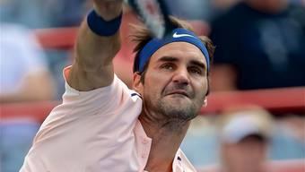 Entschlossen zum 94. Titel? Roger Federer ist in Montreal gut unterwegs