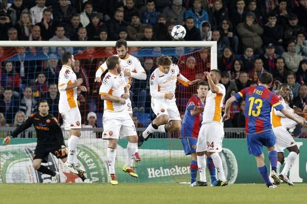 Basel bäumt sich gegen die Niederlage und holt auf..
