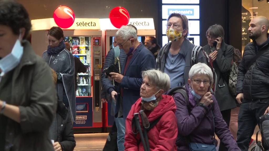 Fahrleitungsstörung sorgt für Zugschaos in Bern