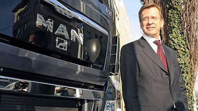 MAN-Chef Samuelsson legt sein Amt nieder (Archiv)