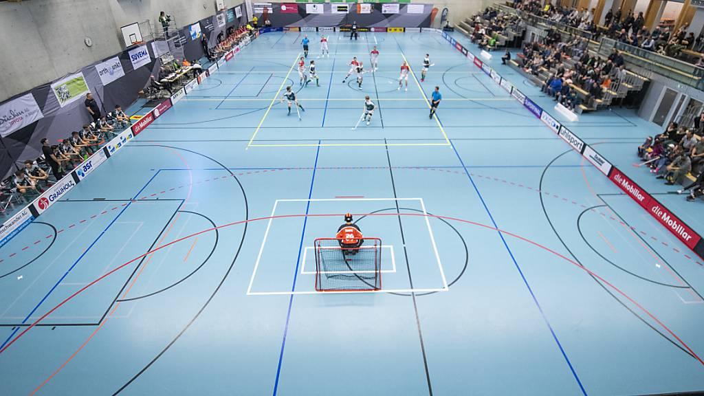 Der Meisterschaftsbetrieb im Unihockey wird mindestens bis Ende November ruhen