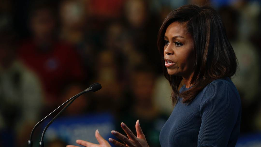 """Michelle Obama: """"So verhält sich ein Politiker nicht"""""""
