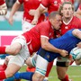 Rugby, im Bild das WM-Spiel Italien – Kanada, entwickelt sich in der Schweiz in eine positive Richtung. Mit 175 Stellenprozent will der Schweizer Verband Strukturen aufbauen.