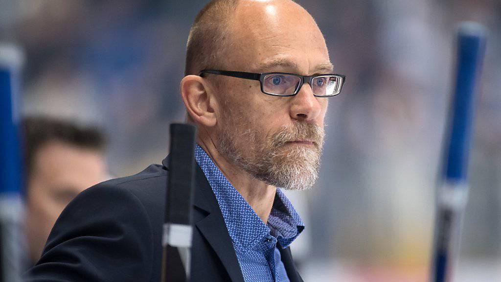 ZSC-Meistercoach Hans Kossmann versucht sein Glück in Deutschland
