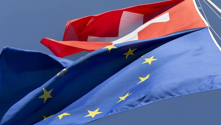 Das Verhältnis Schweiz-EU bleibt weiterhin angespannt. (Archivbild)