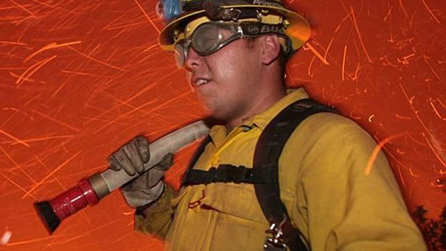 Die Feuerwehr Vechigen war mit rund 70 Einsatzkräften vor Ort. (Symbolbild)
