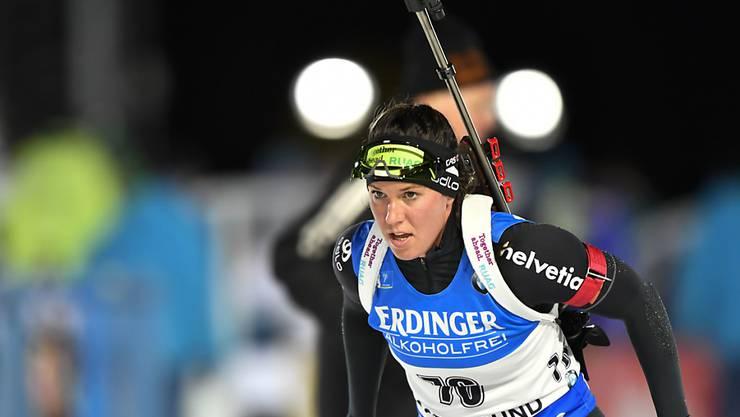 Lena Häcki stellt ihre Fortschritte unter Beweis