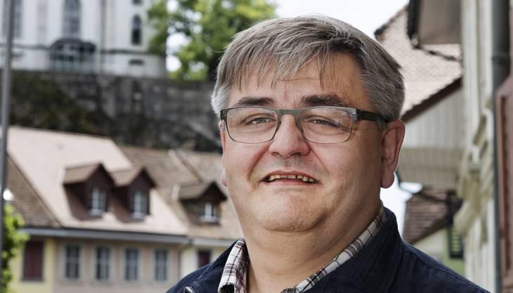 Aarburgs Ammann Hans-Ulrich Schär muss eine Niederlage einstecken
