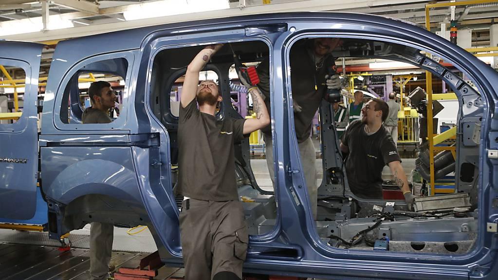 Frankreichs Industrieproduktion erholt sich nach Corona-Einbruch. (Archiv)