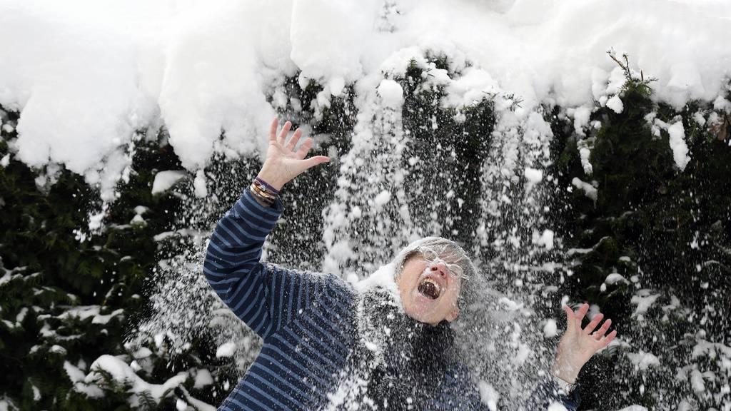 Rekordverdächtige Schneehöhen in Graubünden und der Ostschweiz