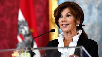 Brigitte Bierlein, die neue Bundeskanzlerin Österreichs. Bild: Thomas Kronsteiner/Getty (Wien, 30. Mai 2019)