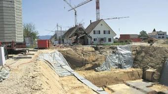 Das Neubaugebiet Aeschemerbündte füllt sich allmählich. Foto: ach