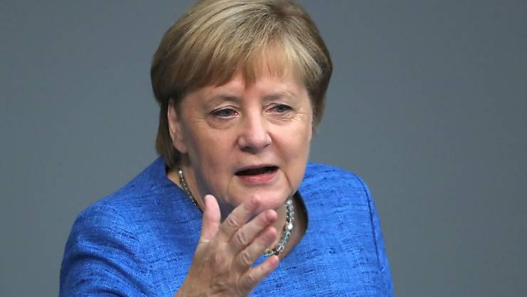 Für die deutsche Kanzlerin Angela Merkel.