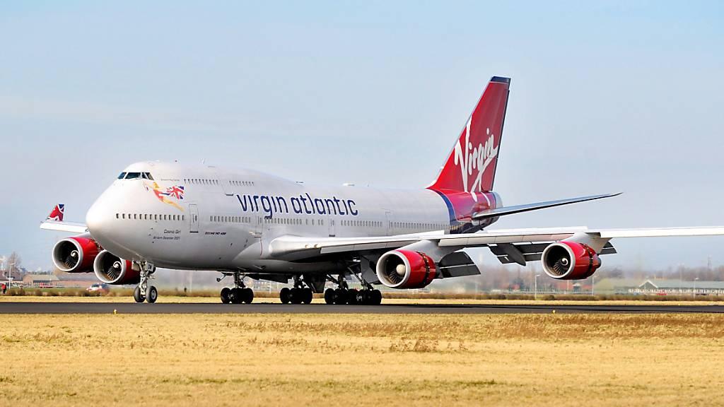 Die britische Fluglinie Virgin Atlantic streicht weitere 1150 Stellen. (Archiv)