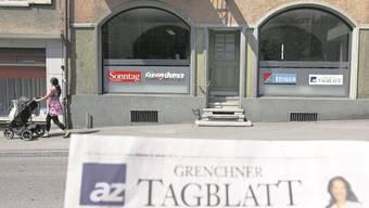 Endlich! Das Grenchner Tagblatt kehrt wieder in die Uhrenstadt zurück.