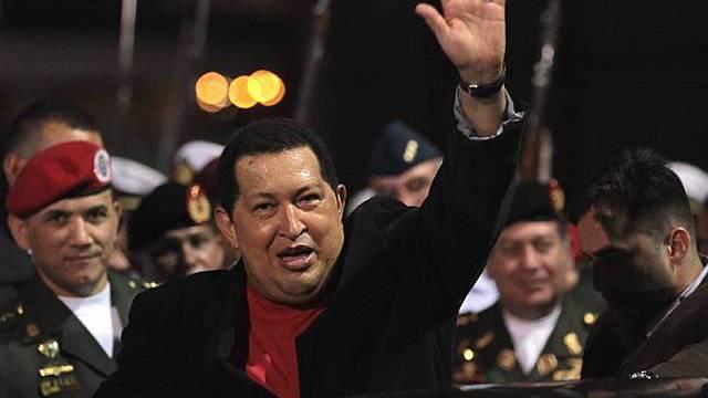 Chávez zurück in Venezuela