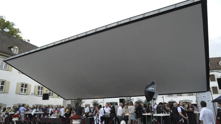 Orange Cinema Premiere der BKB auf dem Münsterplatz