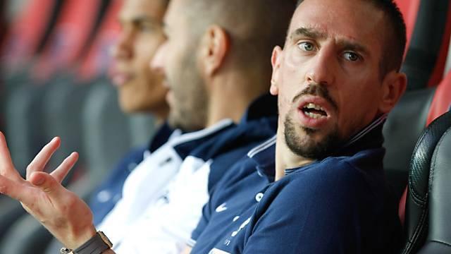 Franck Ribéry plagt sich mit Rückenproblemen herum