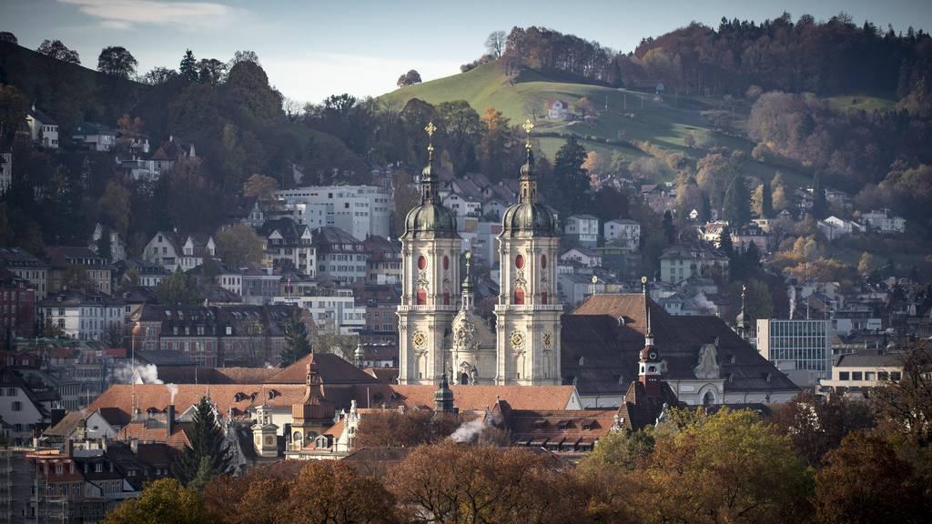 Der Kanton St.Gallen wollte alle Grabungsdokumente der Kathedrale St.Gallen zurück. Das Obergericht Aargau hat die Herausgabe aber abgelehnt. (Archivbild)