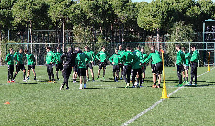 FCSG im Trainingslager (© Facebook/FC St.Gallen)
