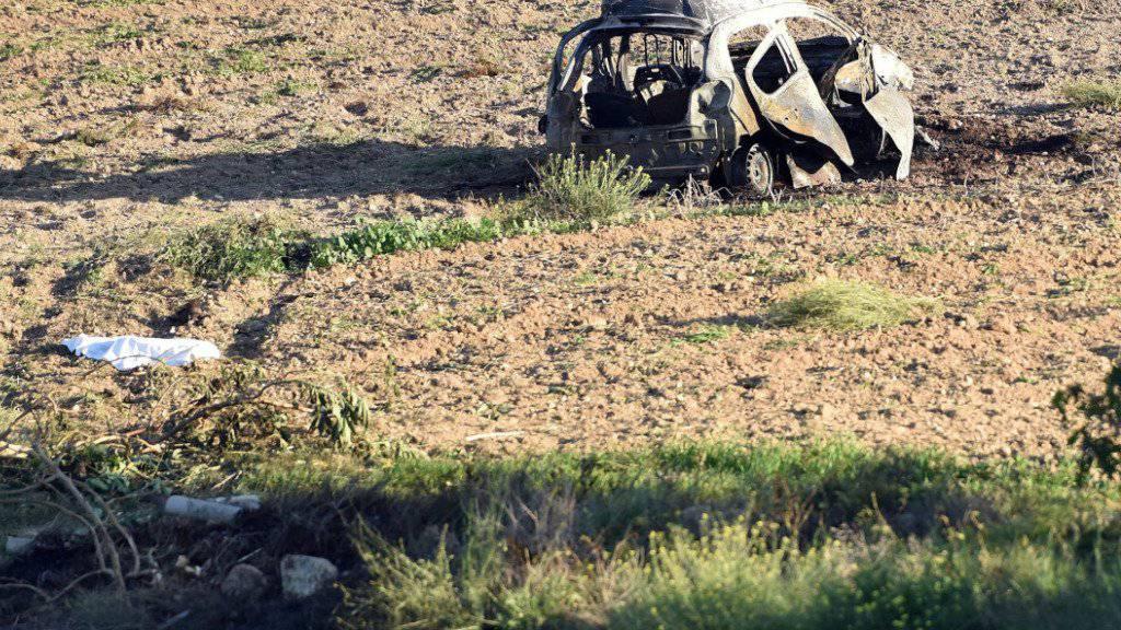 Die Journalistin Daphne Caruana Galizia wurde am 16. Oktober in Mosta auf Malta durch eine Autobombe getötet. (Archivbild)
