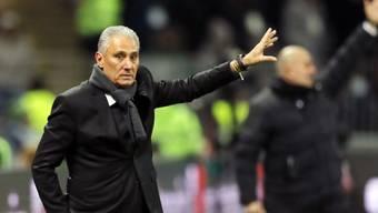 Brasilien-Coach Tite muss im Spiel gegen Russland nur Details korrigieren
