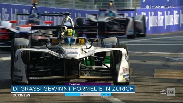Formel-E Zürich: Sieg für Lucas Di Grassi