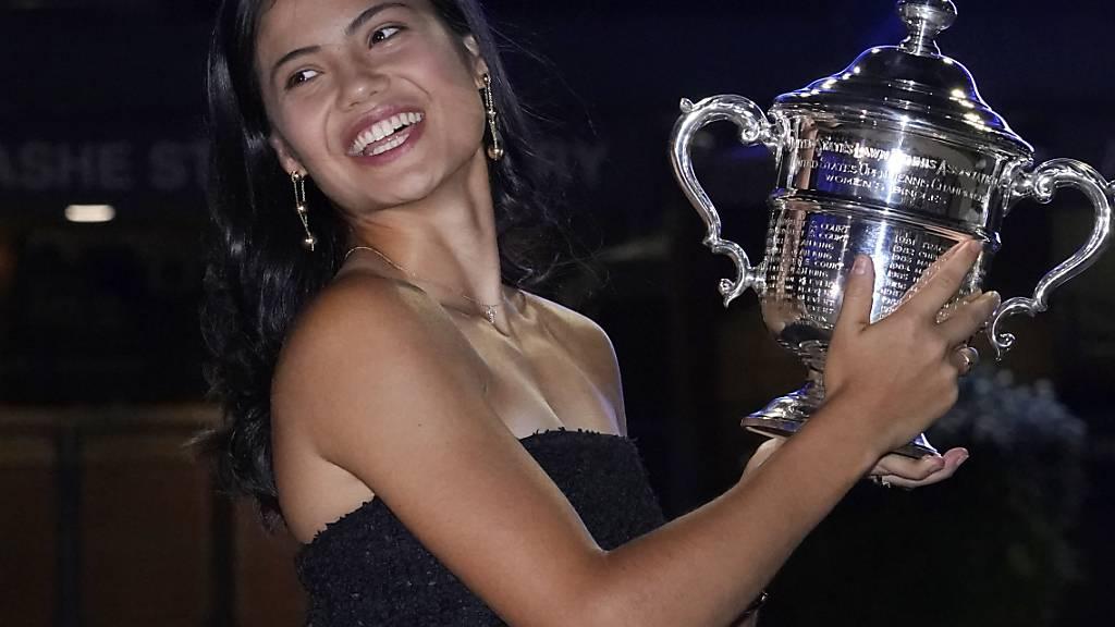 Emma Raducanu schreibt in Flushing Meadows ein Tennis-Märchen
