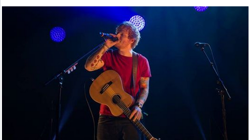 Ed Sheeran war wieder in der Schweiz