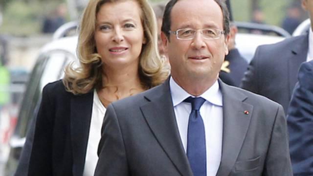 Mit der Wahl Wahl von Hollande zum Präsidenten rückte Trierweiler ins zweite Glied zurück