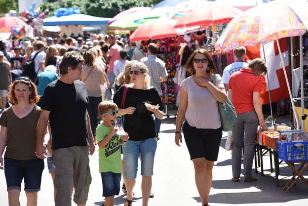 Drei Tage lang konnte man am Wochenende in Dornachbrugg und Aesch den Portiunkulamarkt geniessen.