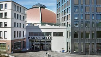 Auch wegen der Markthalle hat Rot-Grün die Bodeninitiative lanciert: Der Kanton hätte die Halle vor dem Umbau nicht verkaufen dürfen.