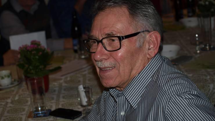 Paul Brogle kann auf 50 Jahre im Jodlerverband zurückblicken und wurde geehrt.