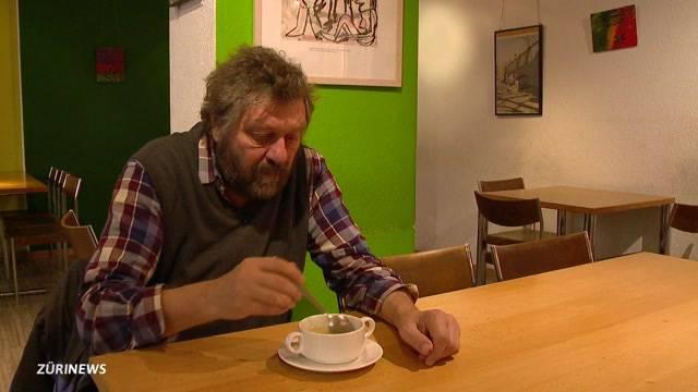 Suppe für Bedürftige im Niederdorf