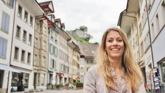 Andrea Hofstetter gefällt es in Lenzburg.