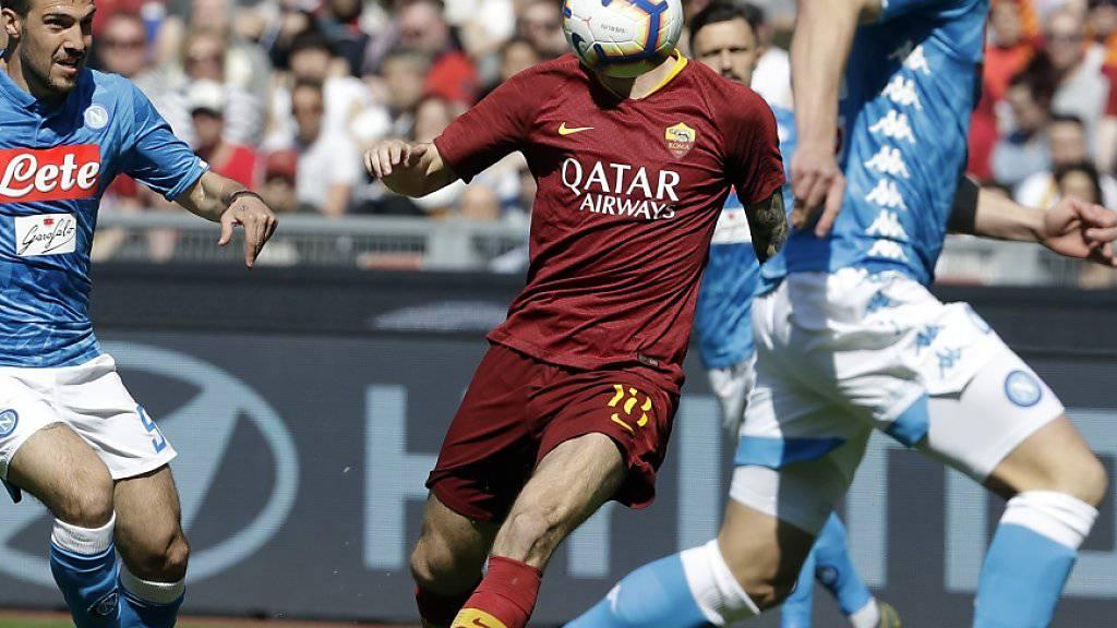 Die Roma spielte gegen Napoli kopflos und verlor deutlich