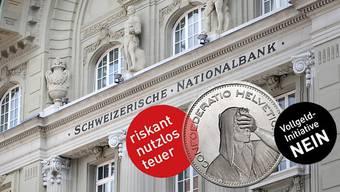 Im Aargau hat sich ein überparteiliches Komitee gegen die Vollgeld-Initiative formiert.