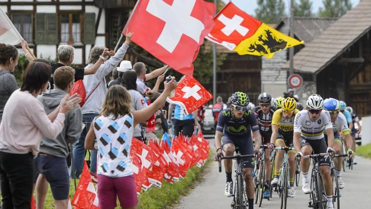 Die Landesrundfahrt 2016 sieht Bergankünfte in Cari, Amden und Sölden vor.
