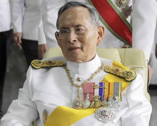 Thailands König Bhumibol Adulyadej ist am Donnerstag nach langer Krankheit gestorben. Er wurde 88 Jahre alt. (Archivbild von 2011)