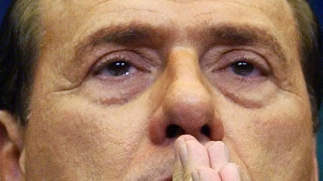 Es läuft nicht mehr, wie geplant, bei Silvio Berlusconi