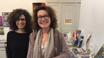 Danièle Turkier (links) und Agnes Henz geht die Arbeit nicht aus.Katja Schlegel